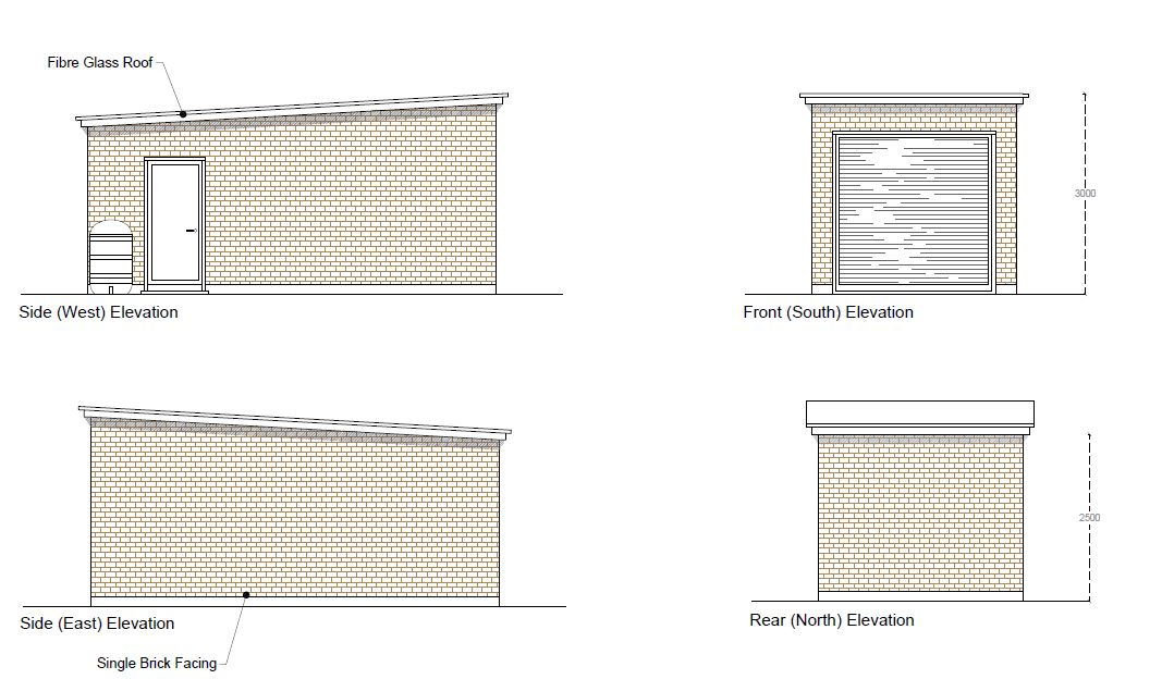 Full Planning Success for a Single Brick 4x4 Garage in the Selby area